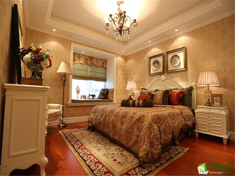 衡阳一淘装饰-130平米欧式四居室装修案例