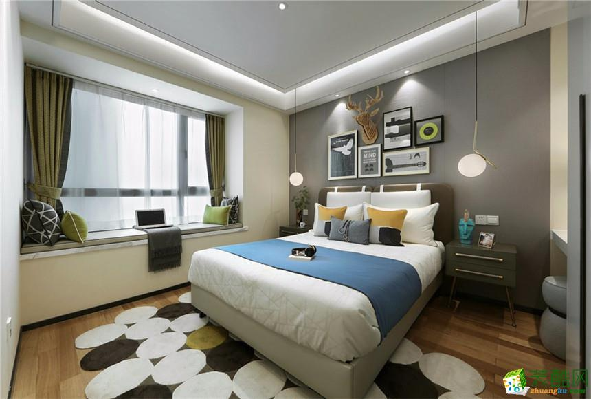 衡阳天佑装饰-120平米现代简约三居室装修案例