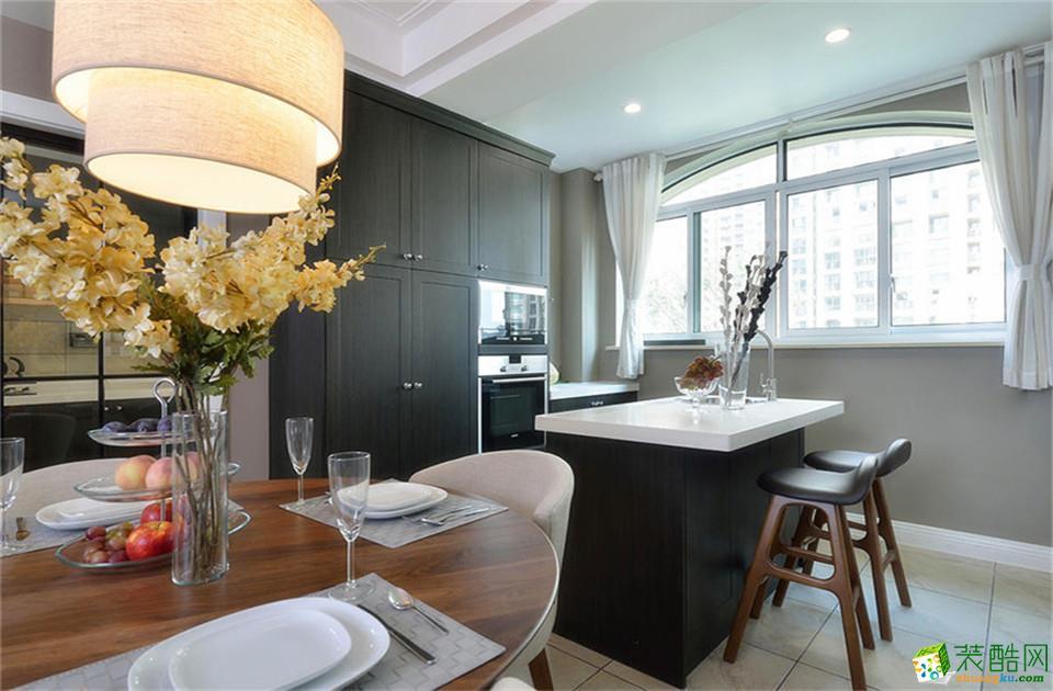 衡阳几米家装饰-105平米美式三居室装修案例