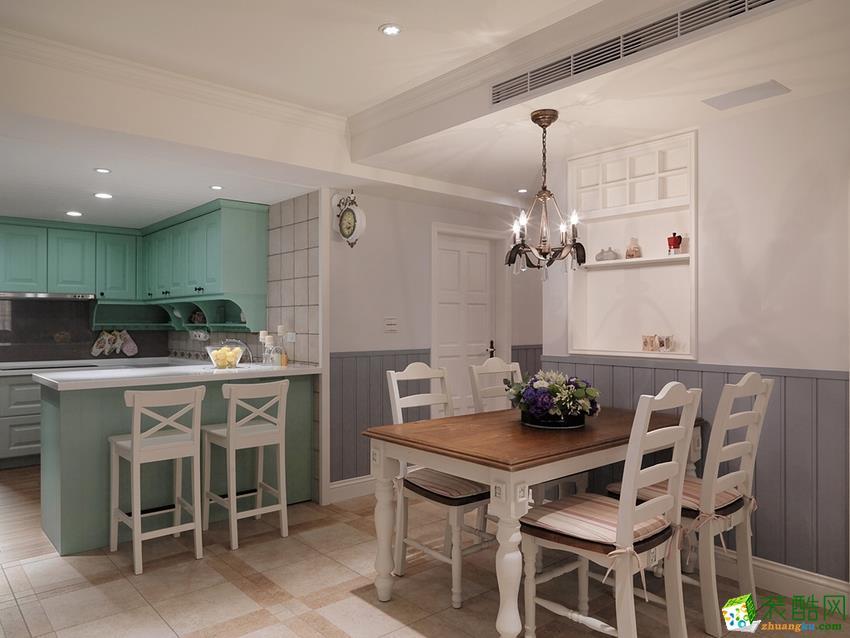 餐厅  衡阳天成华美装饰-120平米田园三居室装修案例