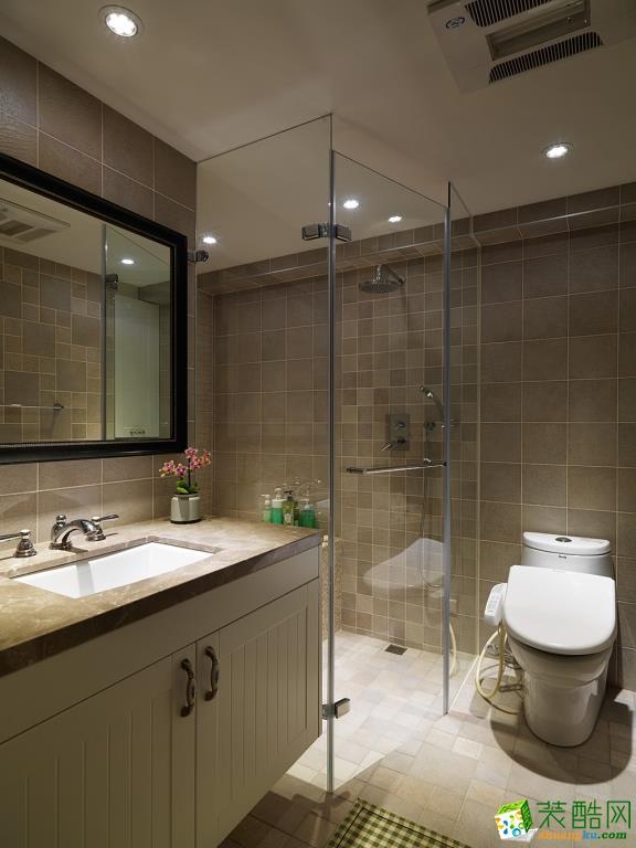 卫浴  衡阳天成华美装饰-120平米田园三居室装修案例