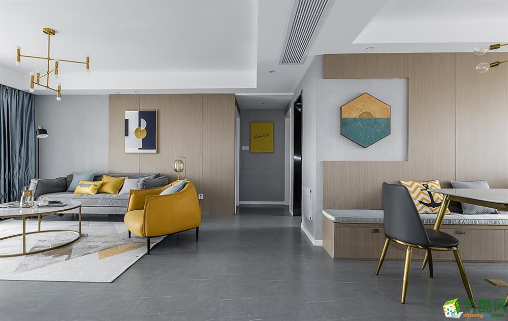 杭州恒彩装饰工程有限公司-三室两厅两卫