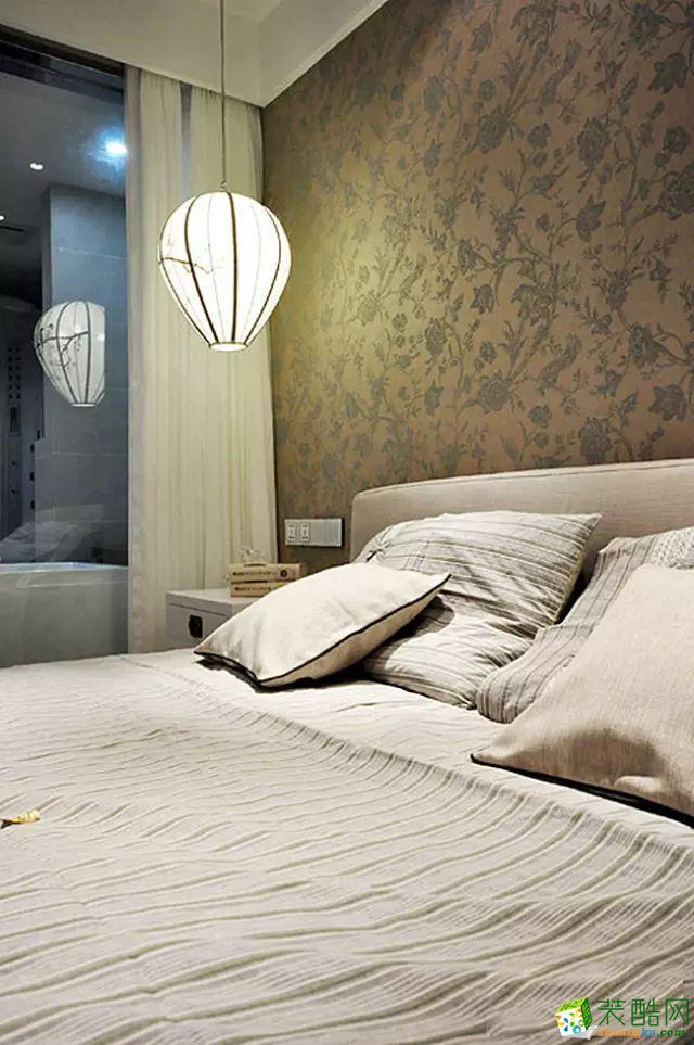 卧室 国韵村128平米中式风格两室两厅装修案例效果图赏析--馨居尚装饰 国韵村