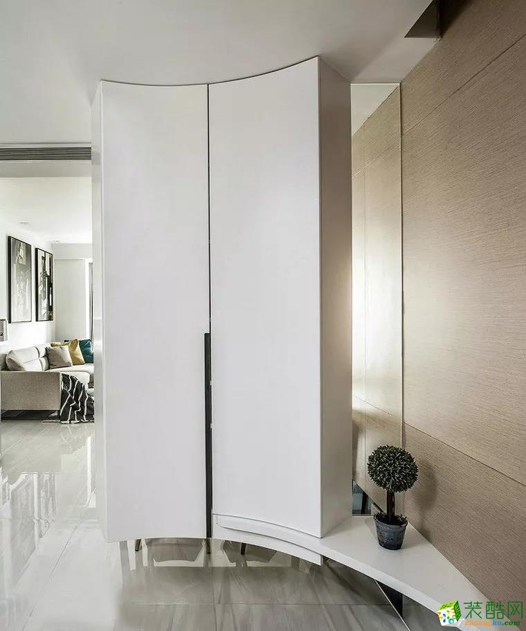客厅  【筷子装饰】89�O现代港式风,自然温馨