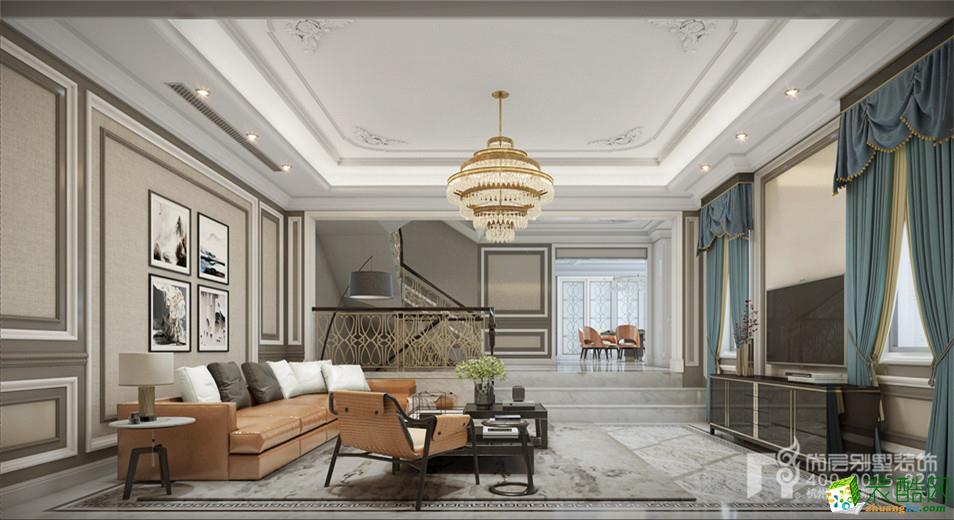 杭州尚层装饰―香格里拉500方法式风格别墅装修效果图