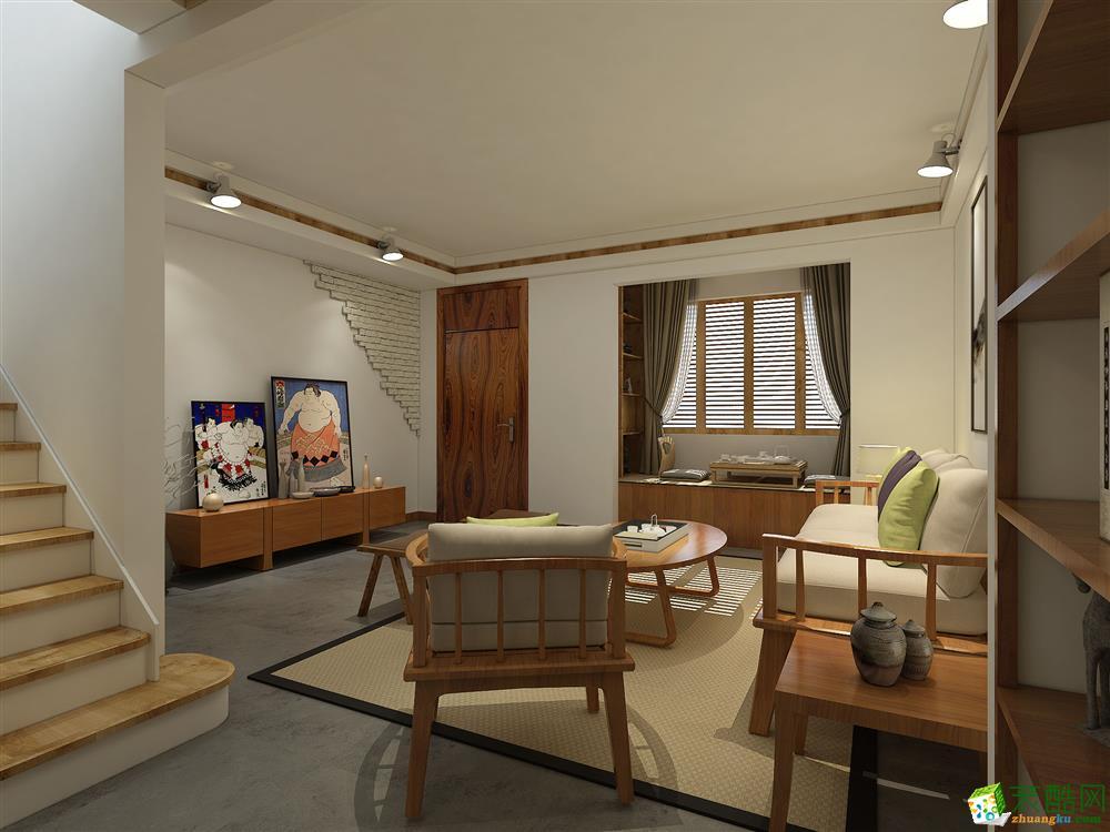 中式风格150平米三居室装修实景案例图--星艺装饰