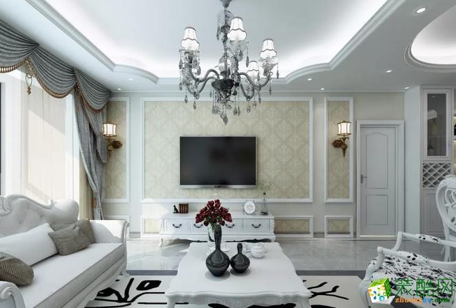 三室两厅一卫欧式装修效果图_三室两厅一卫欧式装修