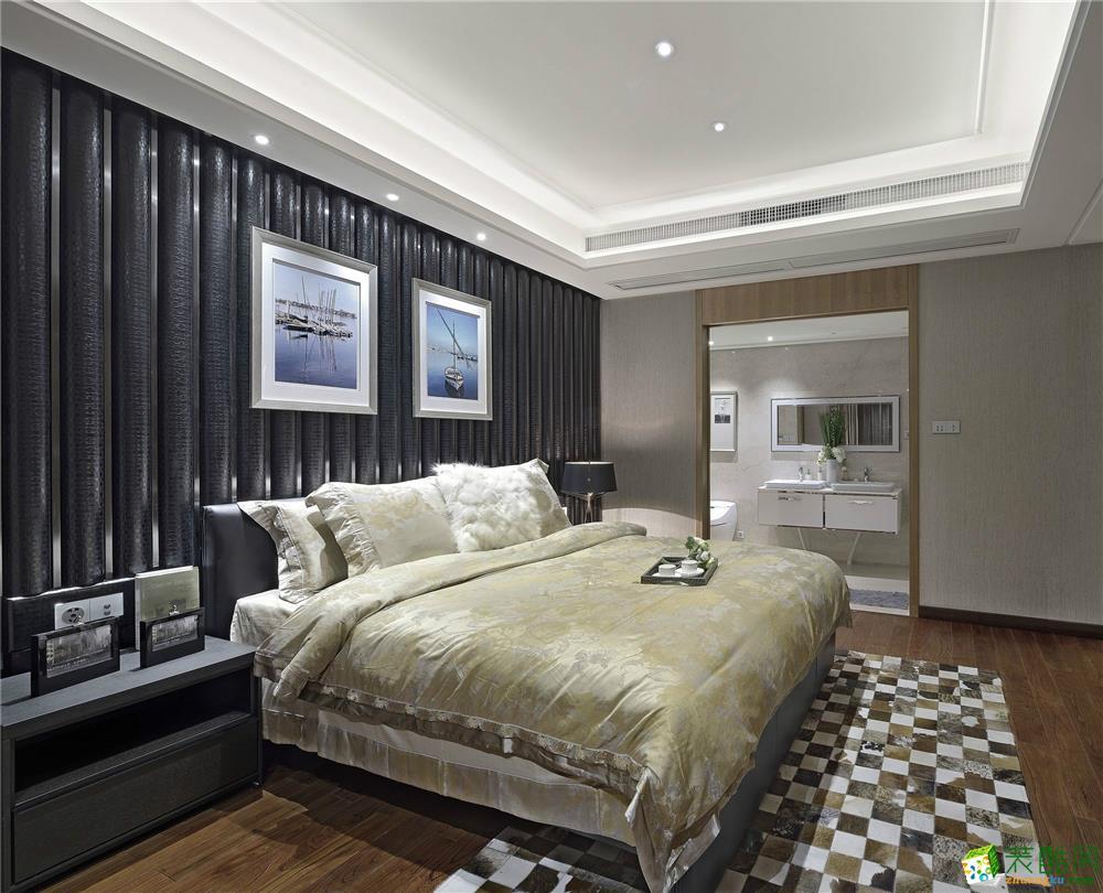 卧室  昆明艺顶装饰--恒大云报华府