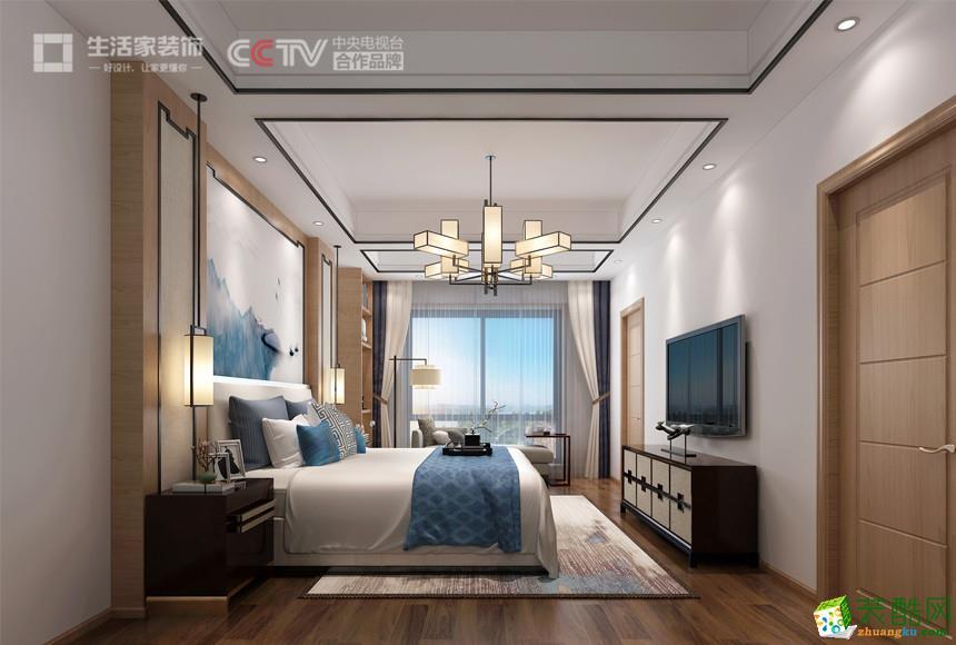 【生活家装饰】别墅360平方新中式风格装修效果图