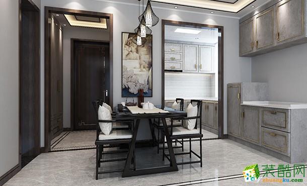 89平新中式家装案例