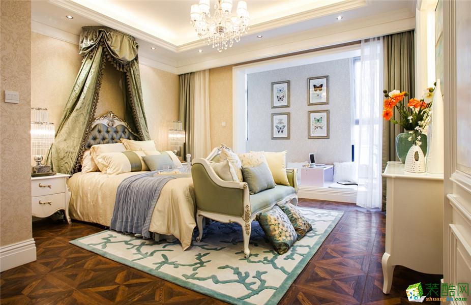 西安三只兔装饰-130平米田园三居室装修案例