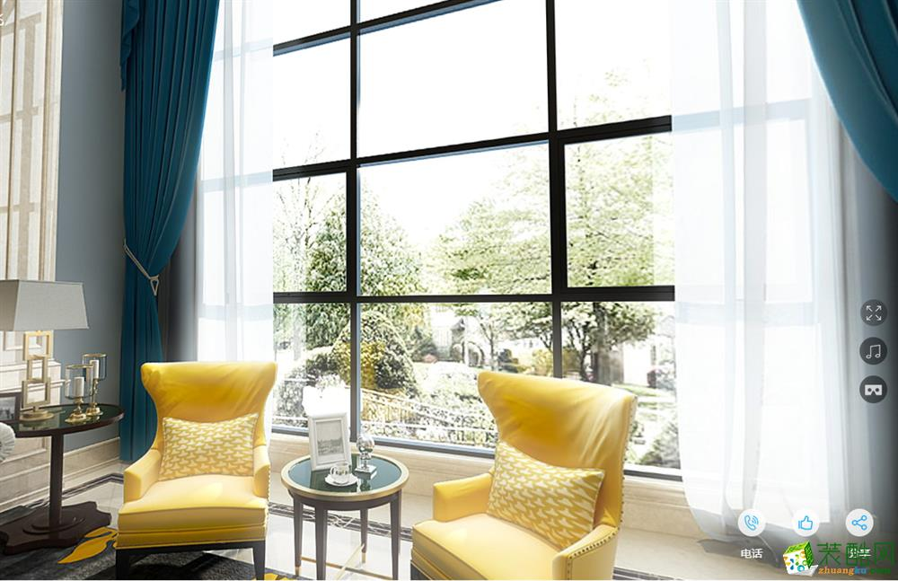 中博装饰黄龙和山520方排屋