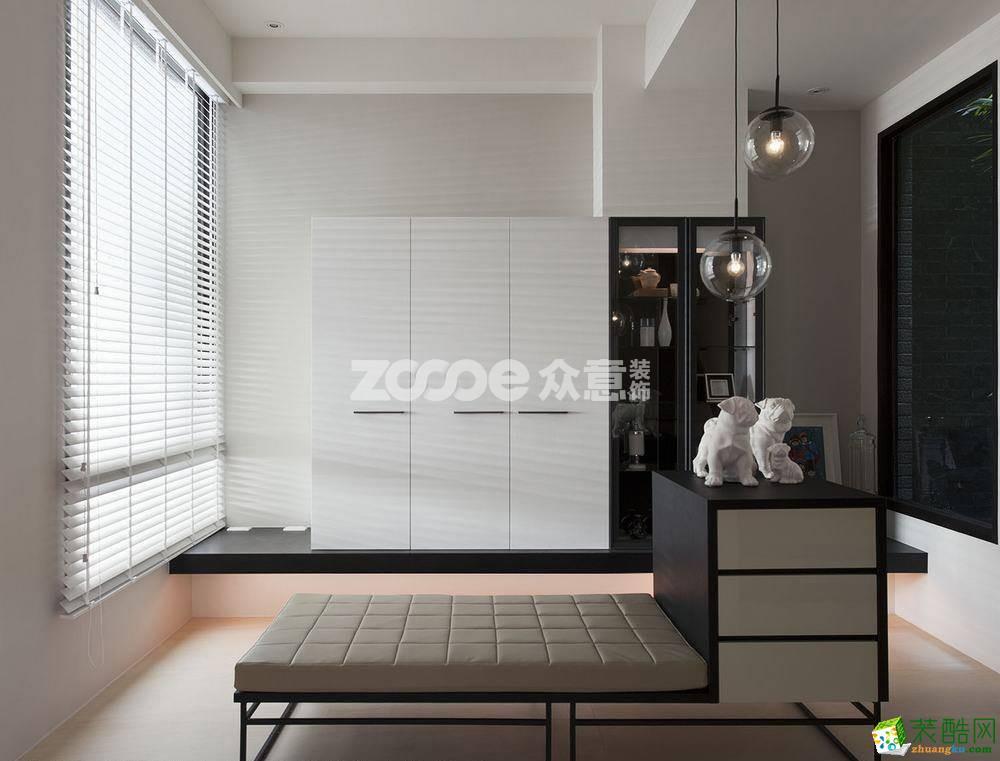 【眾意裝飾】紫晶悅城 102平現代簡約風格裝修效果圖