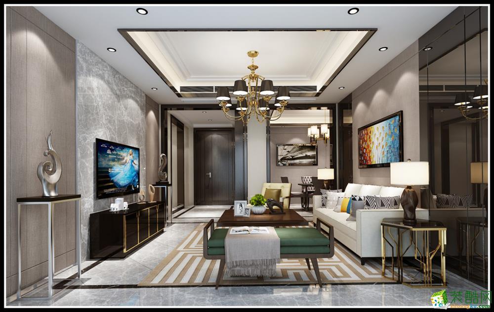 北欧风格360平米别墅大宅装修案例效果图--天地和装饰