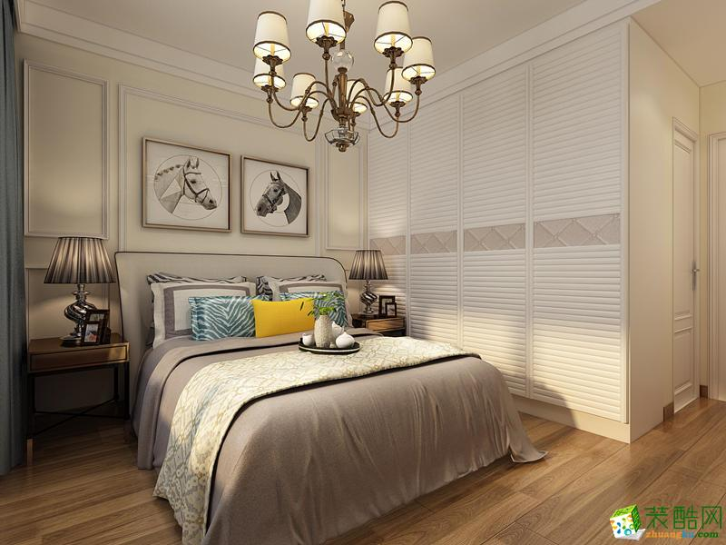 西安城市人家装饰-120平米美式三居室装修案例