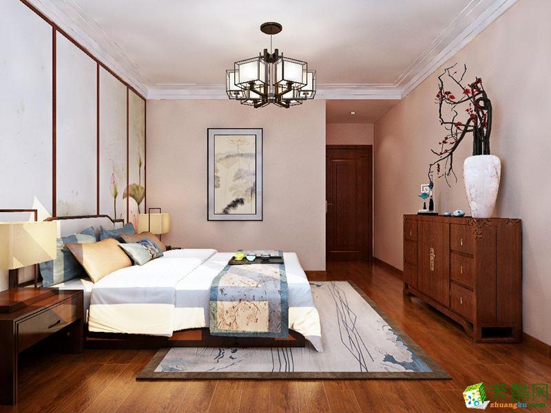 西安峰淘装饰-150平米中式四居室装修案例