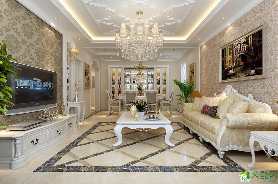 雅居乐国际花园121平三居室 简欧风格效果