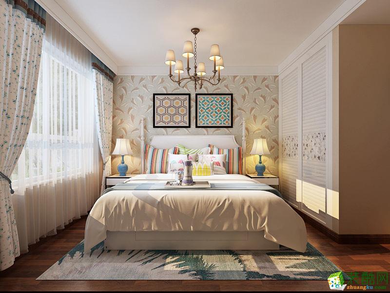 西安快一步装饰-110平米美式三居室装修案例