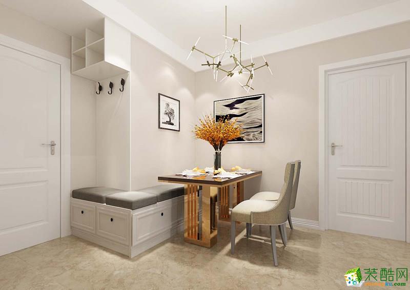 西安美颂雅庭装饰-90平米现代简约两居室装修案例