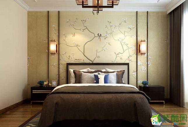 西安众艺美家装饰-120平米中式三居室装修案例