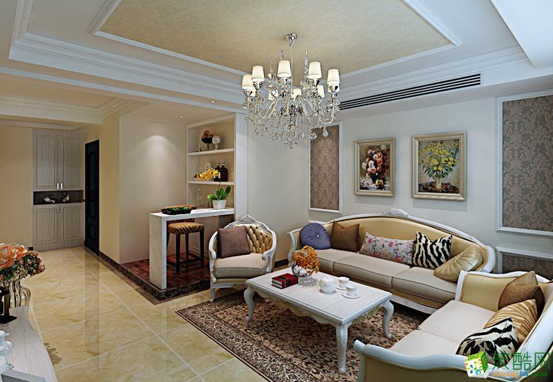 西安众意装饰-100平米简欧两居室装修案例
