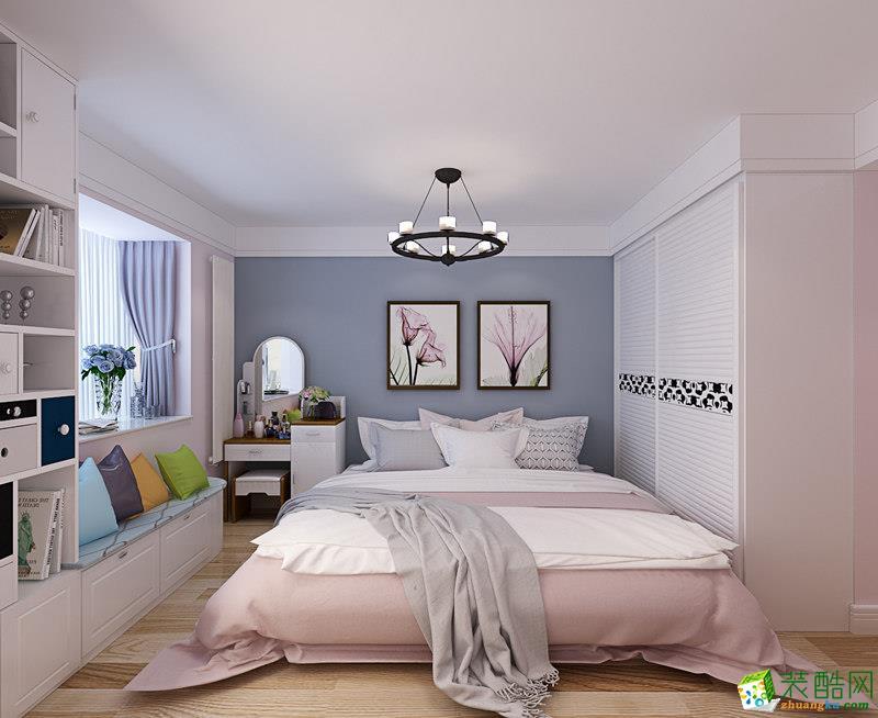 西安九朝装饰-80平米混搭两居室装修案例