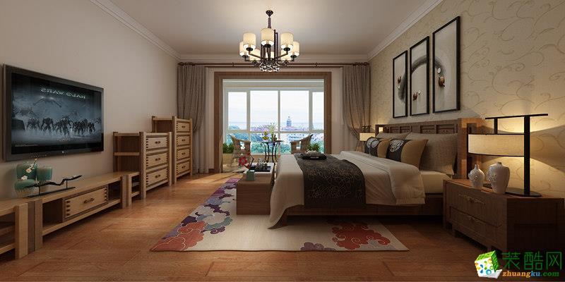 长沙美迪装饰-100平米混搭两居室装修案例