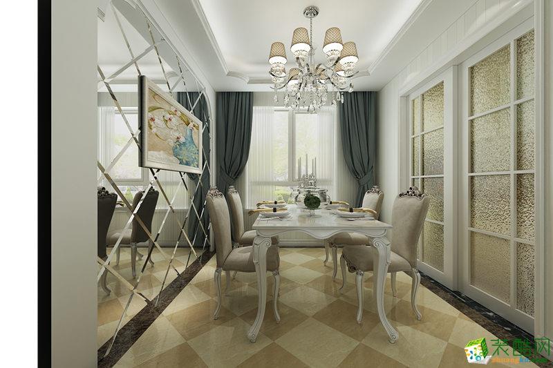 长沙随意居装饰-120平米地中海三居室装修案例