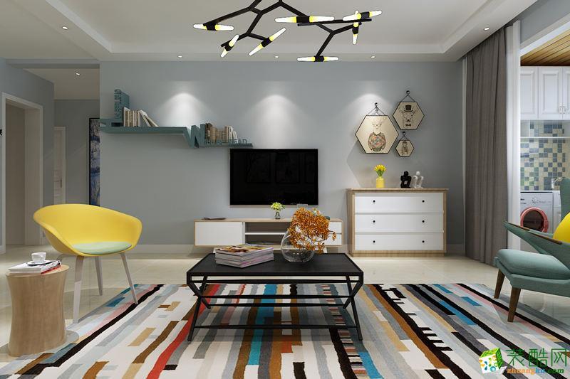 长沙华浔品味装饰-90平米北欧两居室装修案例