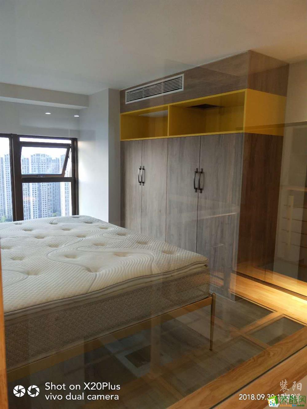 卧室  长沙达美溪湖湾公寓装修