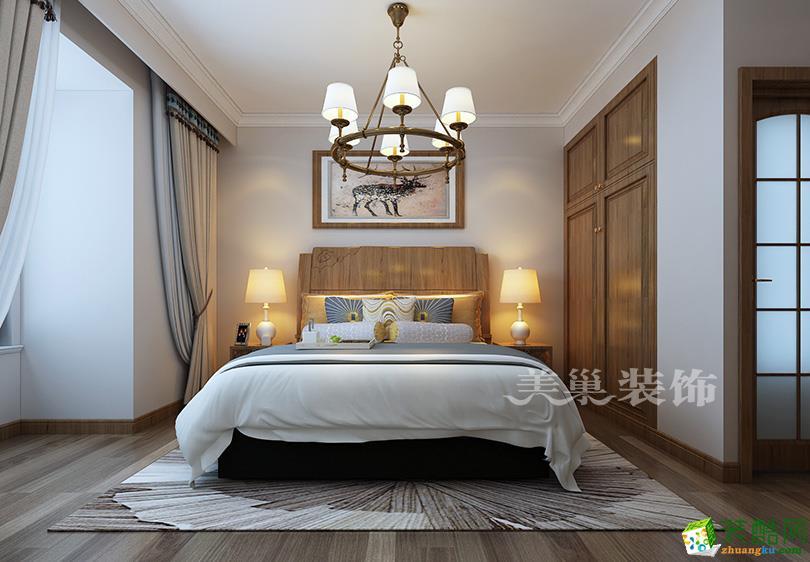 【美巢装饰】阳光城144平方四室两厅混搭案例装修效果图