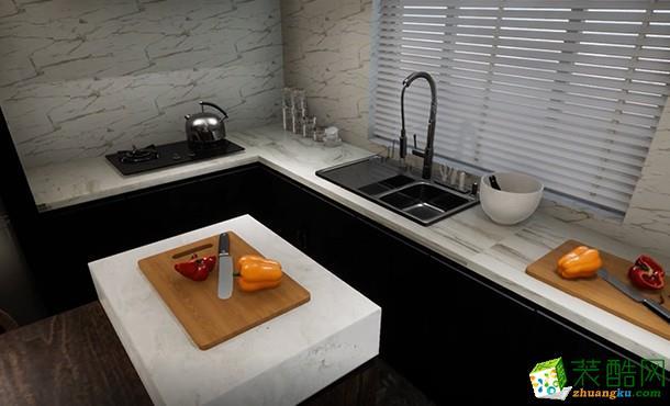 125平新中式家装案例