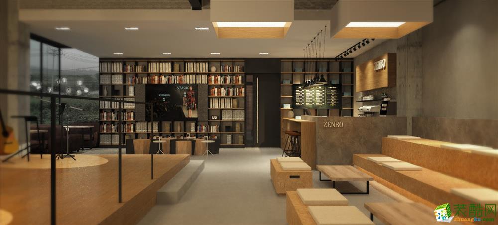 杭州服装展厅3500方工装设计