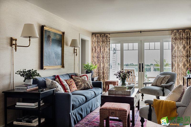 家年华装饰—120方跃层住宅装修设计效果图