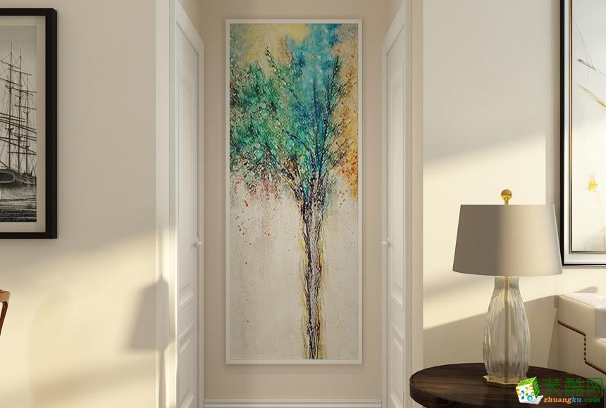 无锡盛观装饰-110平米美式三居室装修案例