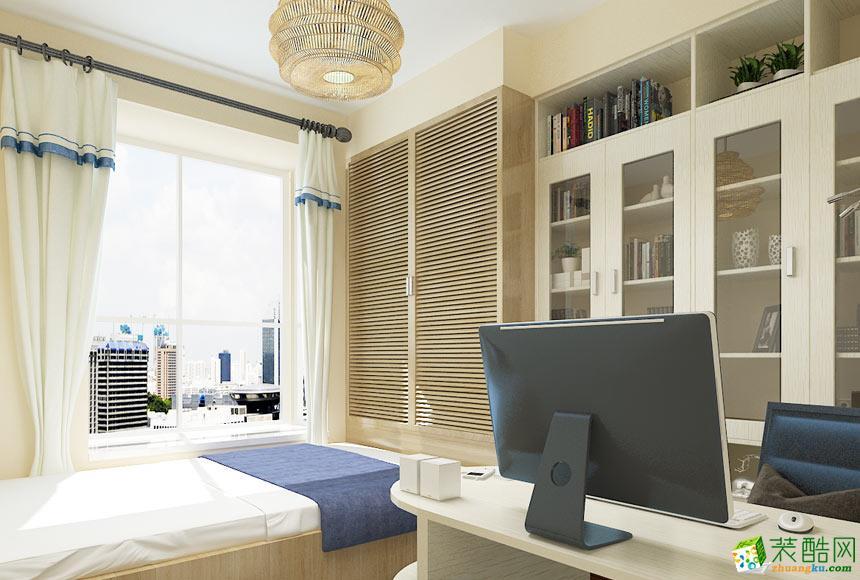 无锡中博装饰-80平米美式两居室装修案例