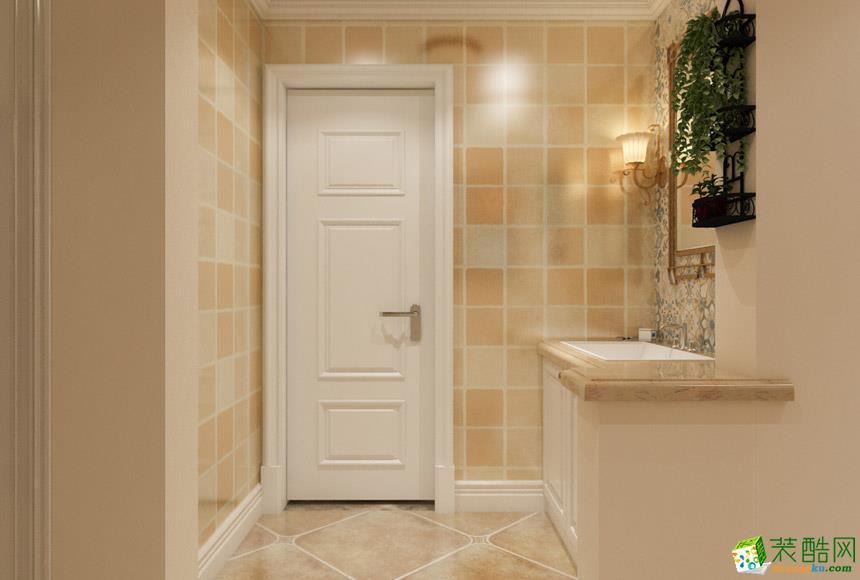 无锡鸥鼎装饰-130平米美式三居室装修案例