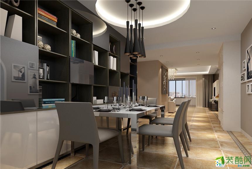 无锡米洛装饰-150平米现代简约三居室装修案例