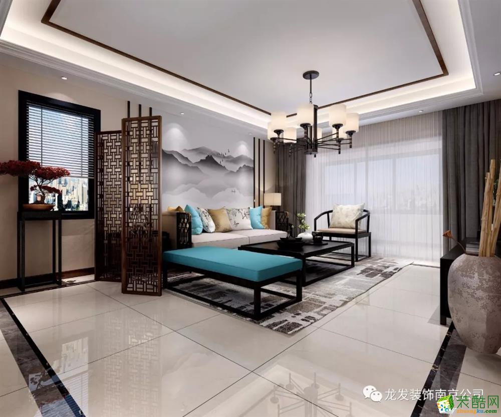 碧桂园350平方新中式风格别墅设计 | 南京龙发装饰