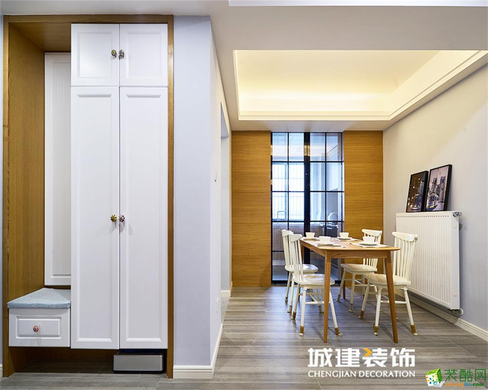 长兴苑144方北欧风格三室两厅装修设计