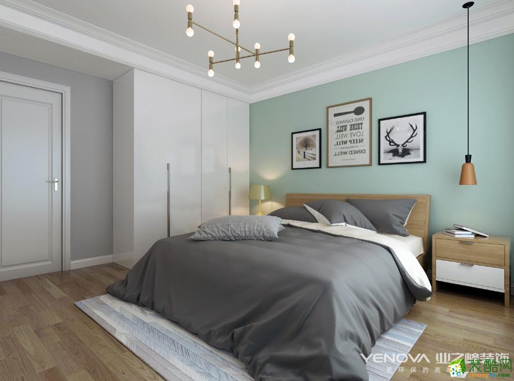 卧室 明华里71方北欧风格两室一厅装修设计效果图 明华里71方北欧风格
