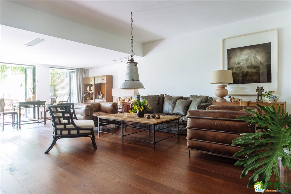 古典风格280平米别墅住宅私人订制装修案例图--尚壹扬