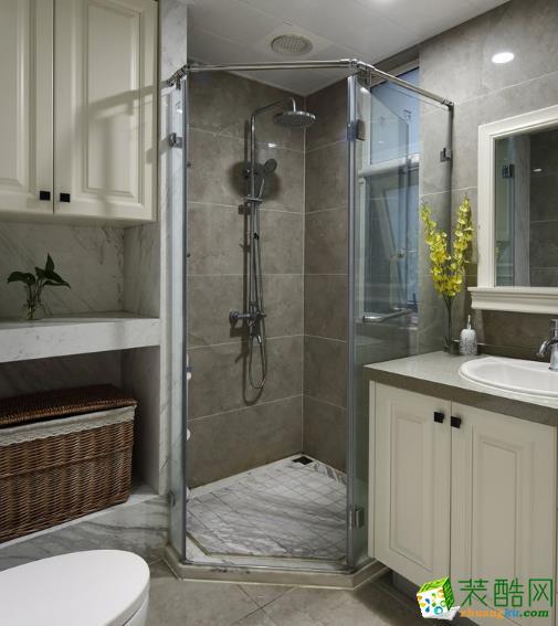 无锡锦华装饰-119平米简美三居室装修案例