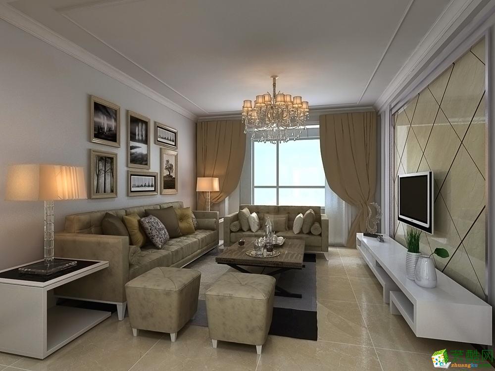 无锡红蚂蚁装饰-85平米现代简约两居室装修案例