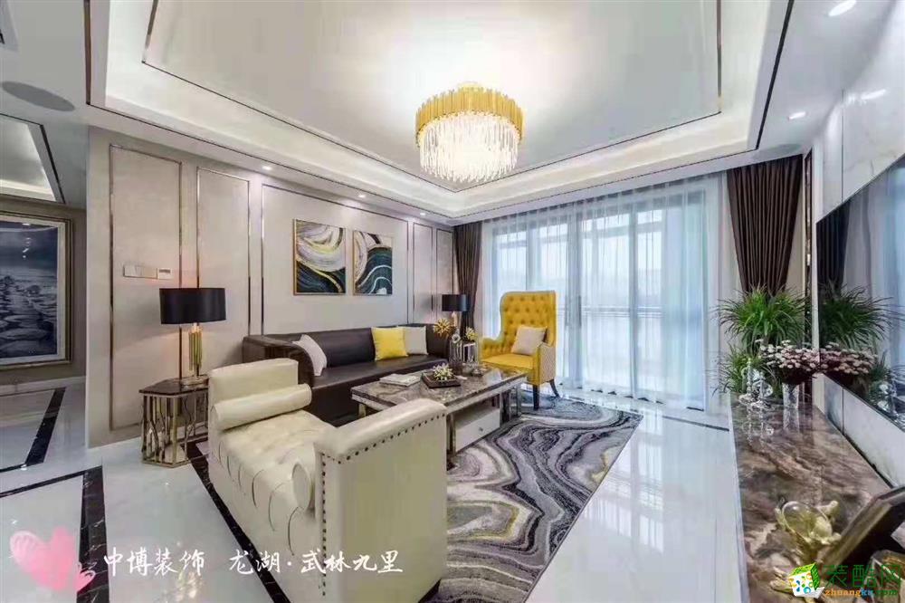 杭州120方装修―中博装饰龙湖武林九里简欧风格