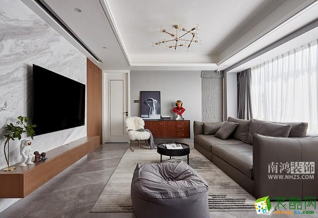 富阳89平米装修―西溪之星三室一厅装修设计效果图