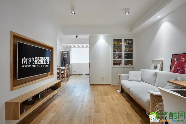 富阳70方装修―青园小区两室一厅日式风格装修设计效果图