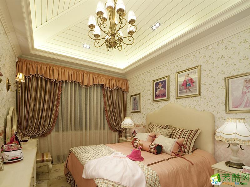 卧室 绿洲千岛花园别墅欧式古典风格