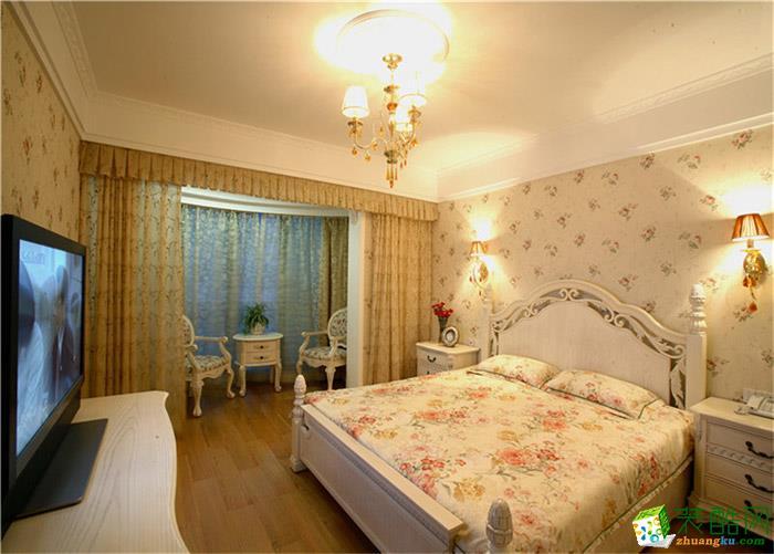 衡阳红牛装饰-90平米简欧两居室装修案例