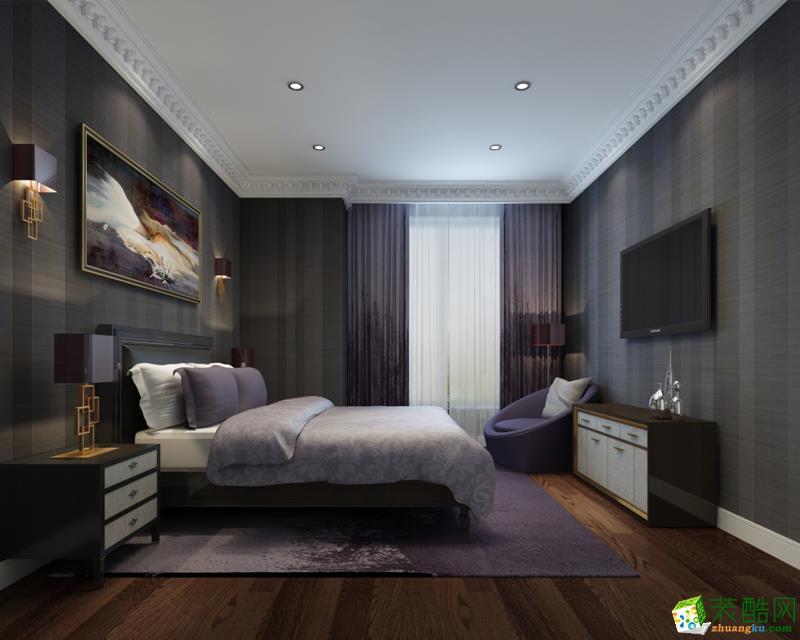 >> 西安快一步裝飾-120平米混搭三居室裝修案例